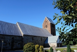 Babysalmesang i Jerne Kirke