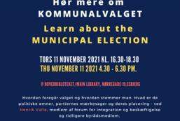 Hør mere om kommunalvalg i Danmark
